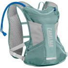 WOMEN'S CHASE BIKE VEST 50 OZ MINERAL BLUE/SILVER