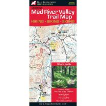 MAD RIVER VALLEY TRAILS WATERPROOF MAP