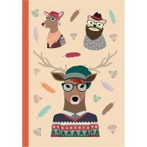NOTEBOOK HIPSTER ANIMAL DEER