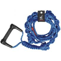 WAKESURF ROPE, 16', 3 SECTION, BLUE