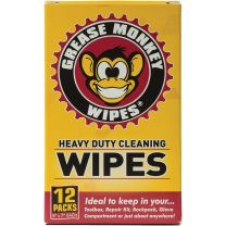 GREASE MONKEY WIPES SINGLE 12P