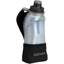NATHAN QUICK SQUEEZE LITE INSULATED 12 OZ BLACK/BLUE