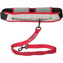 NATHAN RUN COMPANION RUNNER'S WAIST BELT + LEASH