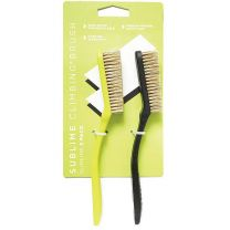 SLIMLINE BRUSH 2-PACK BLK/LIME