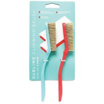 SLIMLINE BRUSH 2-PACK RED/TEAL