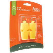 SLIM RESCUE HOWLER WHISTLE 2 PACK