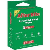 AFTER BITE WIPES 6PC TRAVEL PACK