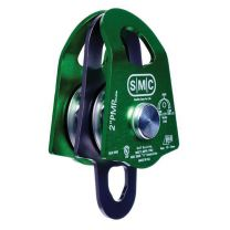 "SMC 2"" PMP DOUBLE PULLEY COLOR GREEN"