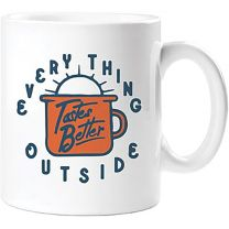 EVERYTHING TASTES BETTER MUG