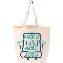 PACK IT IN PACK IT OUT TOTE