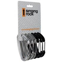 MIRAGE WIRE GATE CARABINER SIX PACK