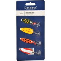 SPOON LURE ASSORTMENT, VARIETY 4-PACK