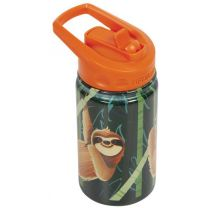 KID'S SLOTH INSULATED BOTTLE WITH STRAW 12 OZ
