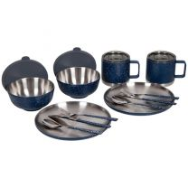 12 PIECE INSULATED RETRO CAMP SET