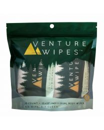 VENTURE WIPES 10 COUNT BAG