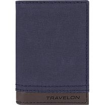 RFID SLIM WALLET - NAVY