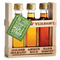 TASTE OF VERMONT MAPLE SYRUP CRATE